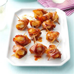 Bacon Water Chestnut Wraps