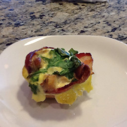 Bacon Wrapped California Omelet Bites