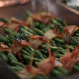 Bacon-Wrapped Green Beans: