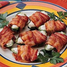 Bacon Wrapped Jalapeno Pepper Appetizers