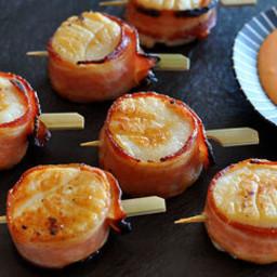 Bacon Wrapped Scallops Recipe
