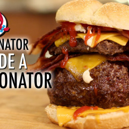 Baconator Stuffed Baconator