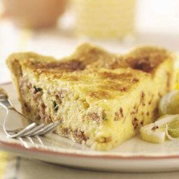 Bacon Swiss Quiche Recipe