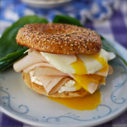 Bagel Breakfast Sandwich