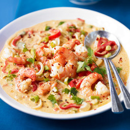 Bahia-style Moqueca prawn stew