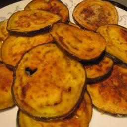 Baigun Bhaji (Pan Fried Aubergines/Eggplant)