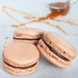 Bailey's Caramel Macarons