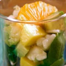 Baja Lobster and Mango Salad