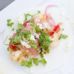 Baja Shrimp Tacos with Jicama Taco Shells