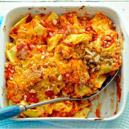 Baked 4-Cheese Ravioli in Marinara Sauce | Recipes & Meals