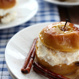 Baked Apples with Ricotta Cheese
