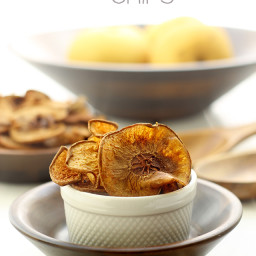 Baked Asian Pear Chips