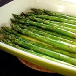 Baked Asparagus with Balsamic Vinegar