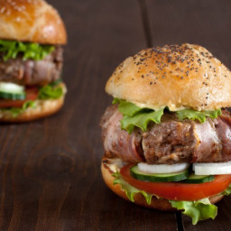 Baked Bacon-Burgers