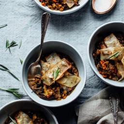 Baked Balsamic Lentil Stew