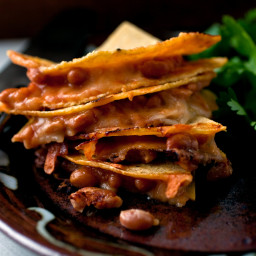 Baked Bean and Cheese Quesadillas