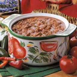 Baked Bean Chili Recipe
