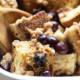 Baked Blueberry French Toast Recipe