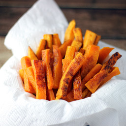 Baked Butternut Squash Fries Recipe