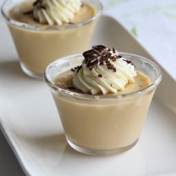 Baked Butterscotch Pudding