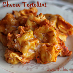 Baked Cheese Tortellini