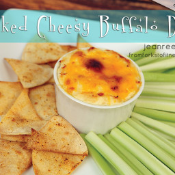 Baked Cheesy Buffalo Dip