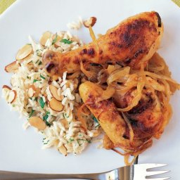Baked Chicken and Onion