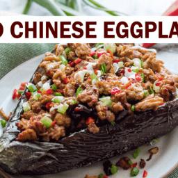 Baked Chinese Eggplant With Pork Mince - Szechuan Style |...