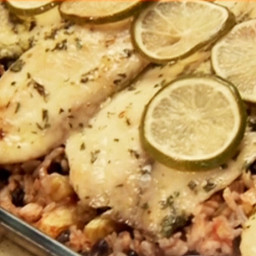 Baked Costa Rican-Style Tilapia