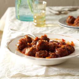 Baked Cranberry Meatballs Recipe