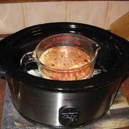 Baked Custard - Slow Cooker