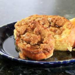 Baked French Toast With Brown Sugar Streusel Topping Recipe
