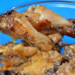 Baked Garlic Butter Chicken Wings