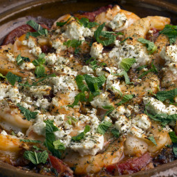 Baked Greek Shrimp With Tomatoes and Feta