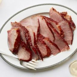 Baked Ham with Orange-Pepper Glaze