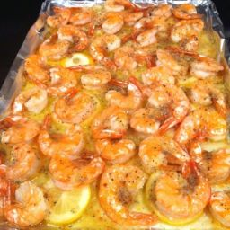 Baked Italian Shrimp