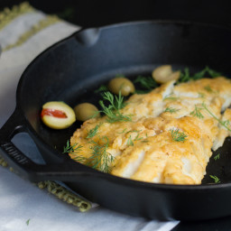 Baked Lemon Cod with Ghee