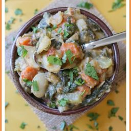 Baked Lima Beans and Veggies