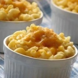 Baked Mac and Cheese for One