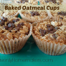 Baked Oatmeal Cups (Bird's Nests)