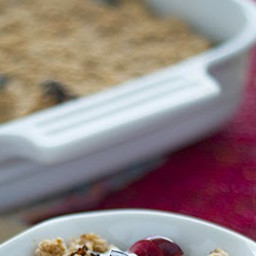 Baked Oatmeal with Fruit and Yogurt