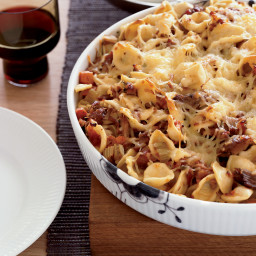 Baked Orecchiette with Pork Sugo