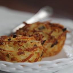 Baked Parmesan Hash Browns