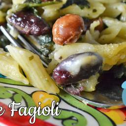 Baked Pasta e Fagioli