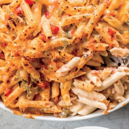 Baked Penne with Green Chiles