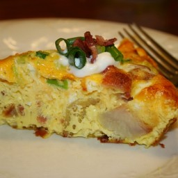 Baked Potato Frittata