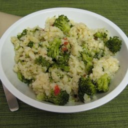 Baked Risotto with Broccoli