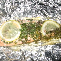 Baked Salmon Packet