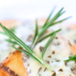 Baked Salmon with Mustard-Dill Sauce