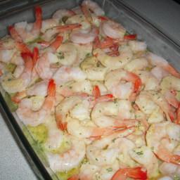 Baked Shrimp Scampi